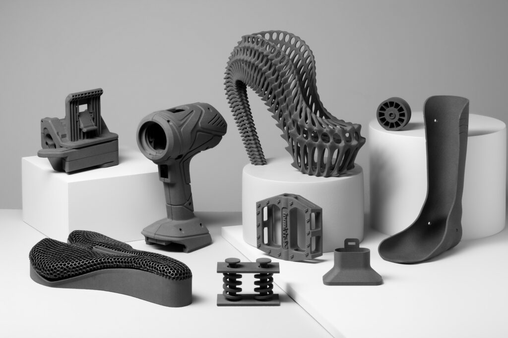 Formlabs Fuse 1 und 3D-MODEL Bauteile Nylon 12