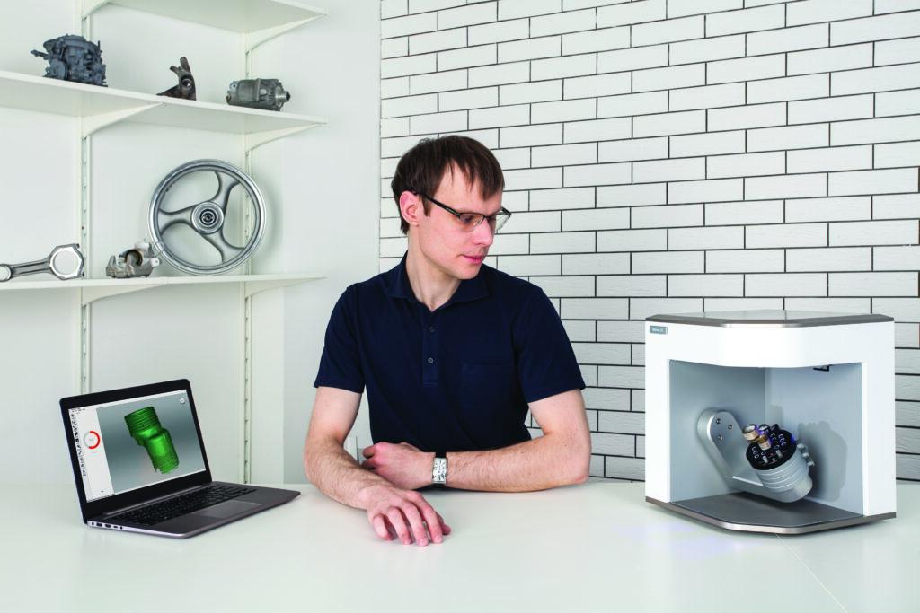 Artec Micro 3D-Scanner reverse engineering