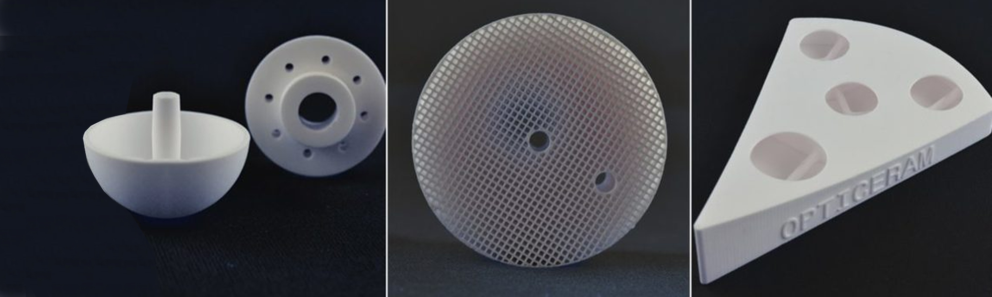 3DCeram Bauteile