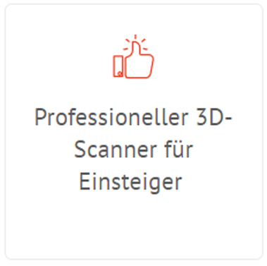 Artec Eva Lite 3D-Scanner - Einstieg