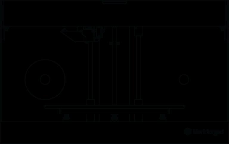 3D-Drucker Zeichnung
