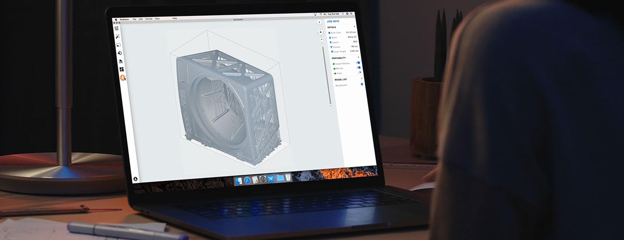 Formlabs 3D Software Preform