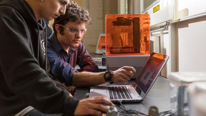 Formlabs Branchen Bildung 3D-Druck Integration an Schulen & Universitäten