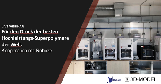 Roboze Webinare Polymere