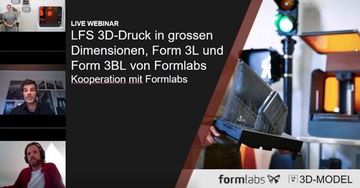 Formlabs Webinare LFS 3D-Druck