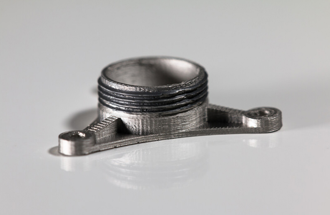 17-4 PH Edelstahl Material von Markforged Bauteil