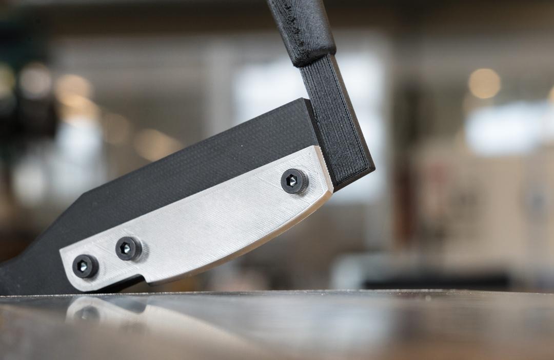 D2 Werkzeugstahl Material von Markforged Anwendung