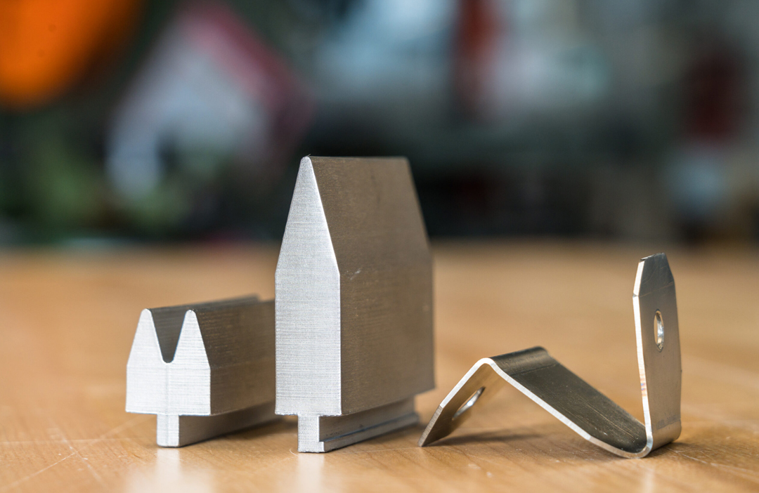 D2 Werkzeugstahl Material von Markforged Bauteile