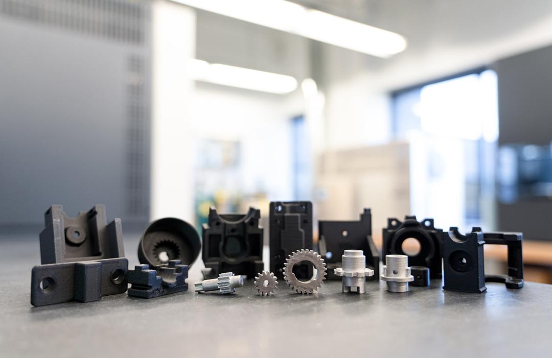 Kohlefaser Material von Markforged Bauteile