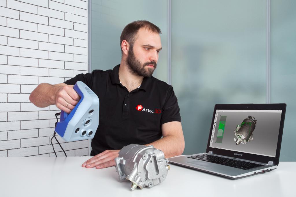 Artec 3D Scanner in Deutschland - Live Webinar