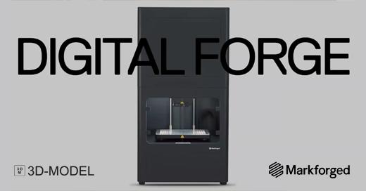 Markforged Webinar digital Forged