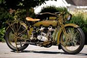 1919er Harley Davidson restauriert